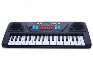37-Key Electronic Keyboard with Microphone